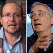 Daniel Samper Ospina y Álvaro Uribe