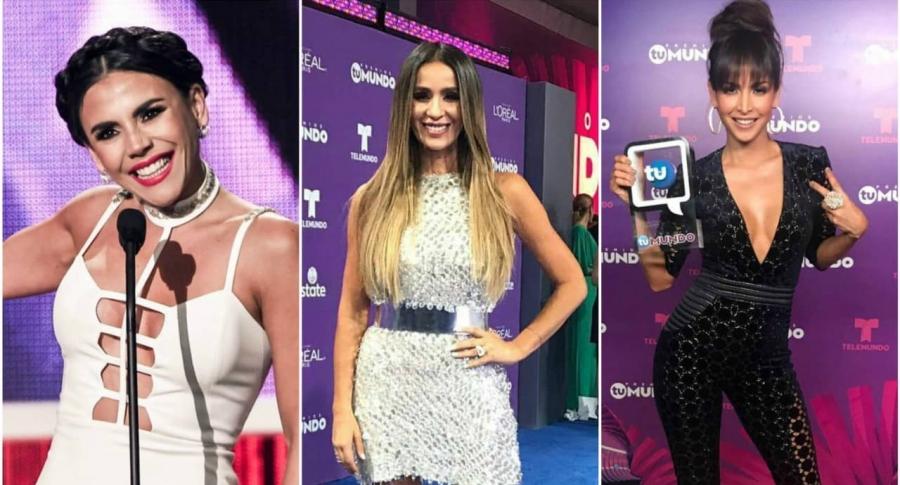 Carolina Gaitán, Catherine Siachoque y Carmen Villalobos