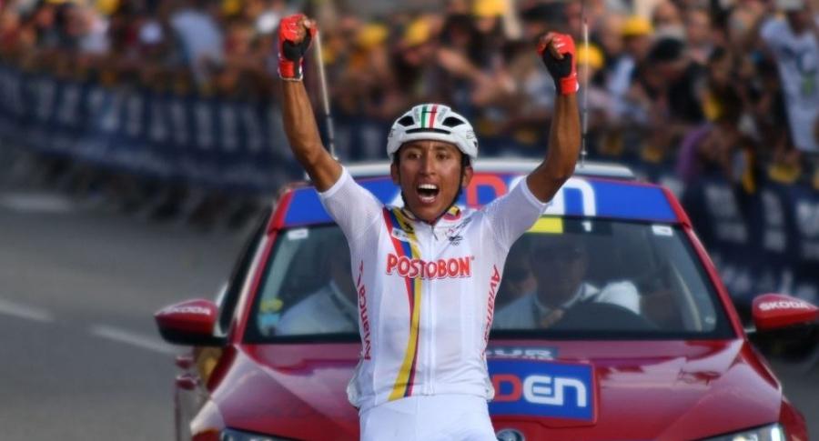 Egan Bernal, ciclista.