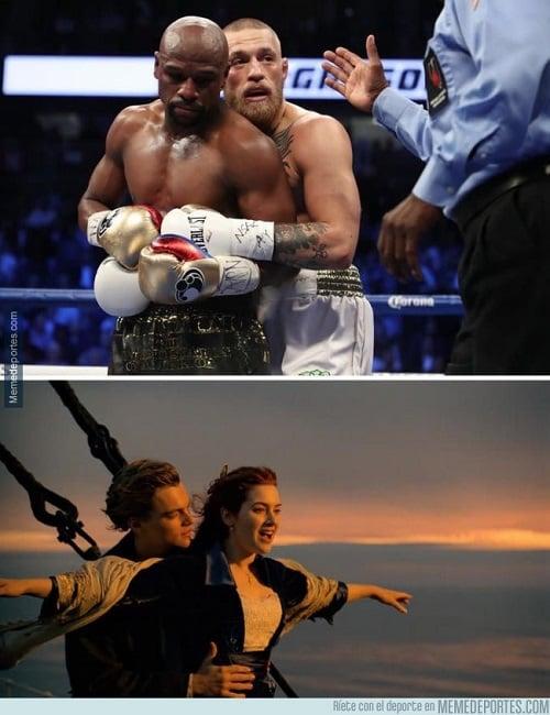 Meme Mayweather vs McGregor