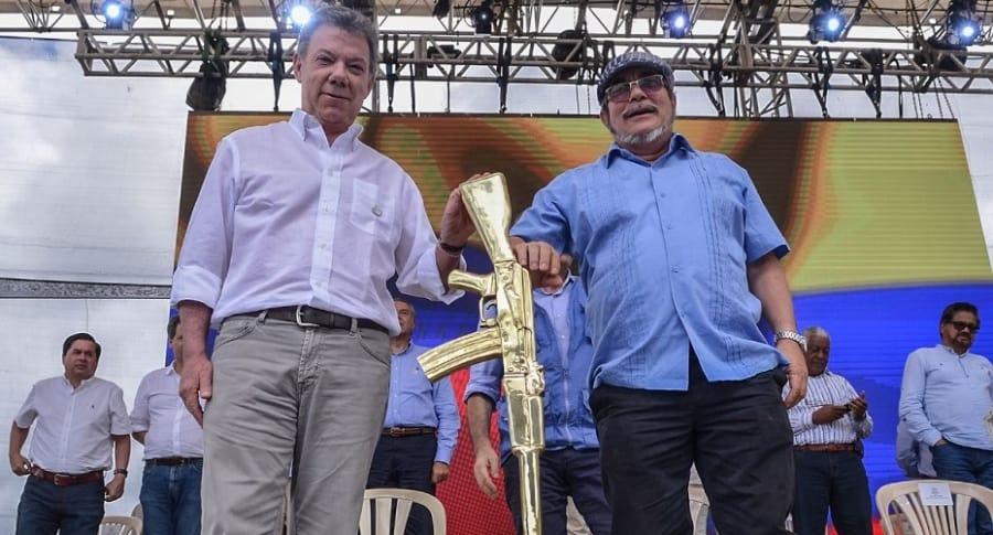 Santos habla del congreso político de las Farc