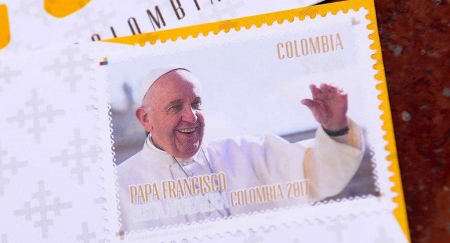 Estampilla del papa