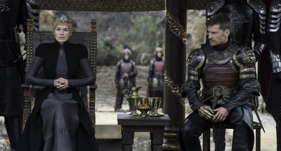 Lena Headey (Cersei Lannister) y Nikolaj Coster-Waldau (Jaime Lannister) de 'Game of Thrones'