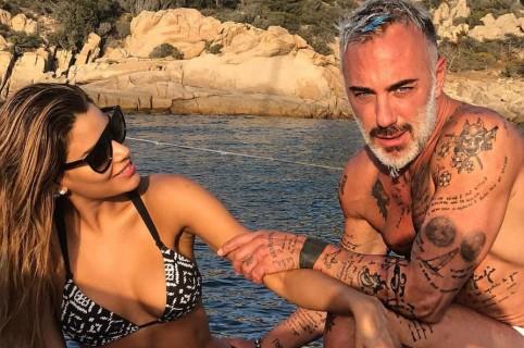 Ariadna Gutiérrez, exreina, y Gianluca Vacchi, 'el Millomario de Instagram'.