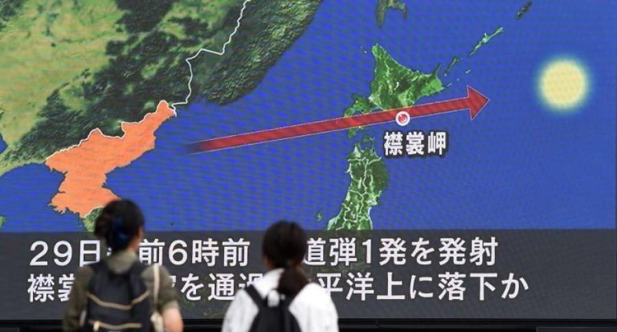 Lanzamiento de misil coreano