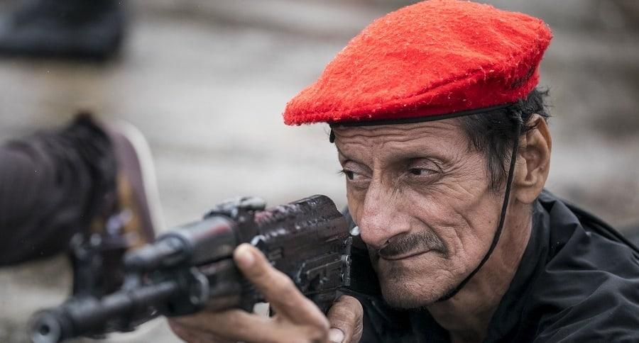 Integrante de la milicia bolivariana