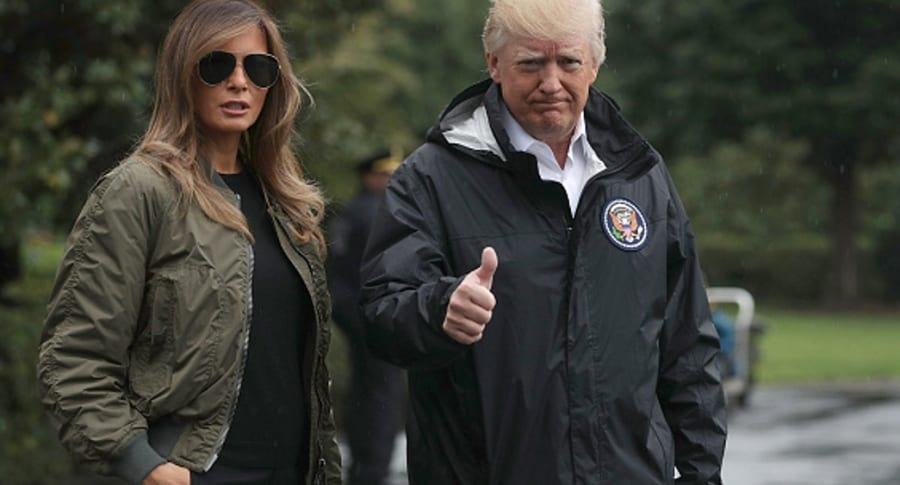 Trump y Melania