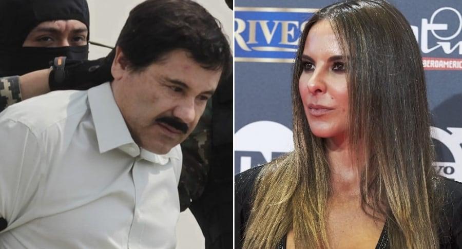 'El Chapo' Guzmán, narcotraficante, y Kate del Castillo, actriz.