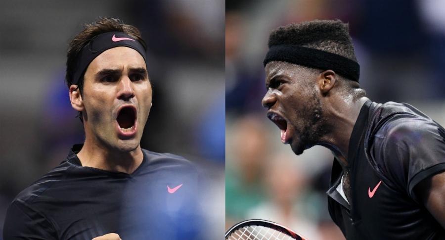 Roger Federer vs Frances Tiafoe