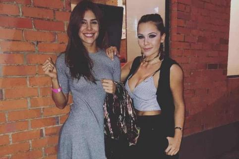 Greeicy Rendón y Lina Tejeiro, actrices.