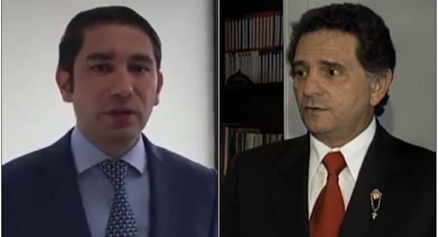 Luis Gustavo Moreno y Julio Manzur