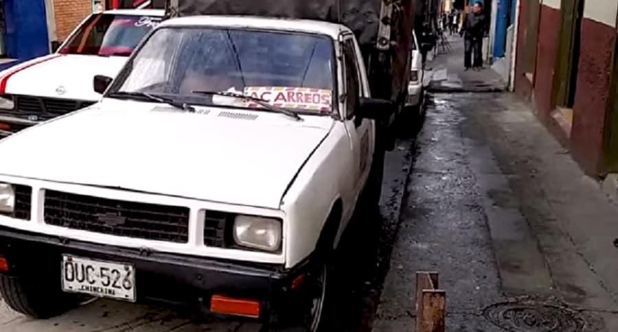 Camioneta que habría siso papamóvil de Juan Pablo 2