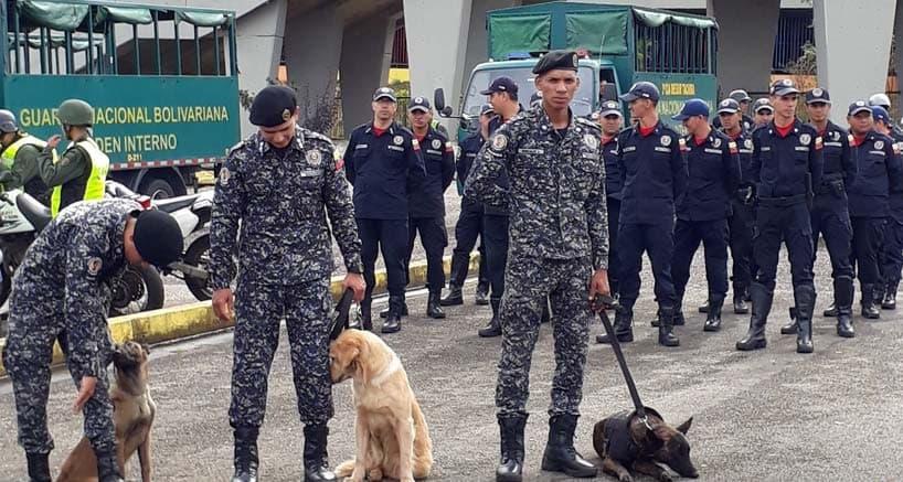 Cuerpos de seguridad de Venezuela