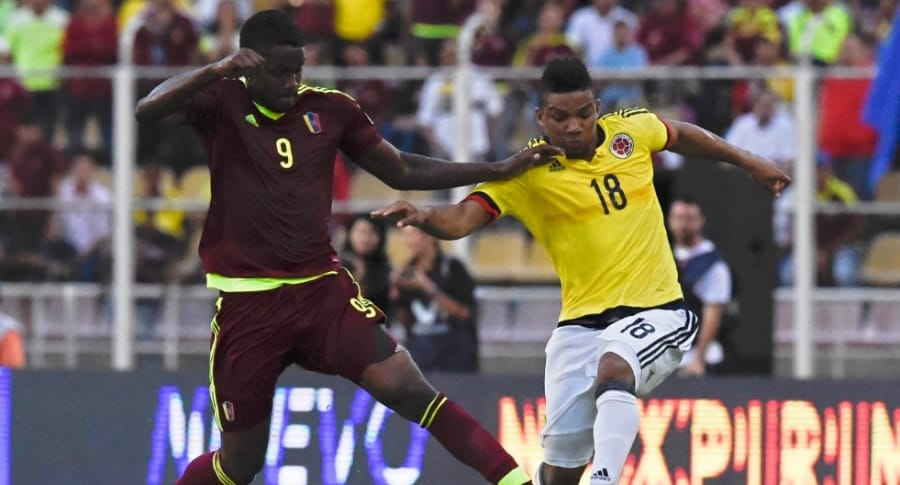Venezuela vs. Colombia