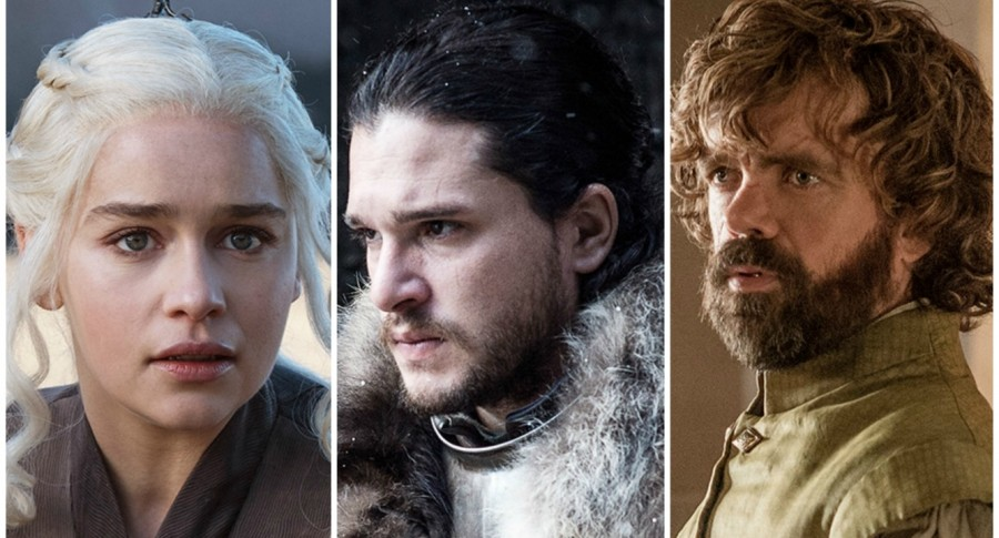 Daenerys Targaryen, Jon Snow y Tyrion Lannister