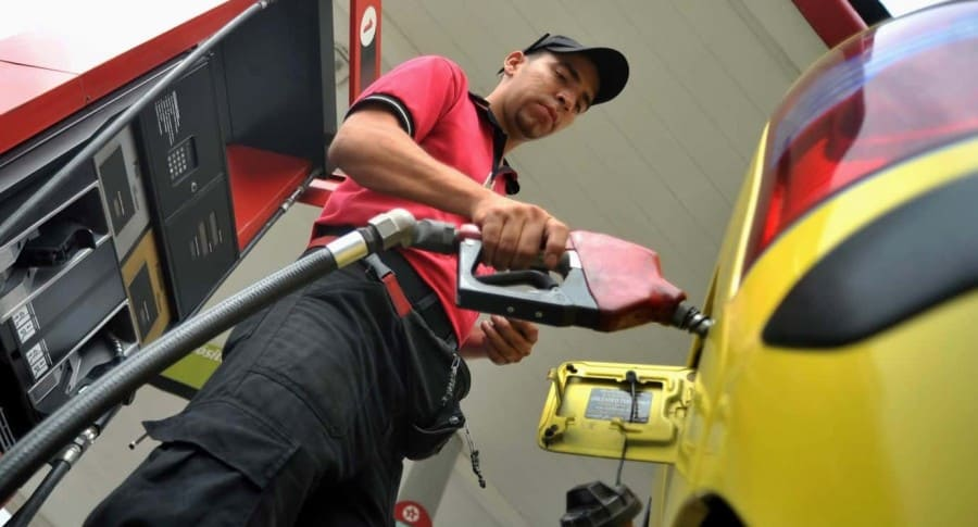 Gasolina en Colombia