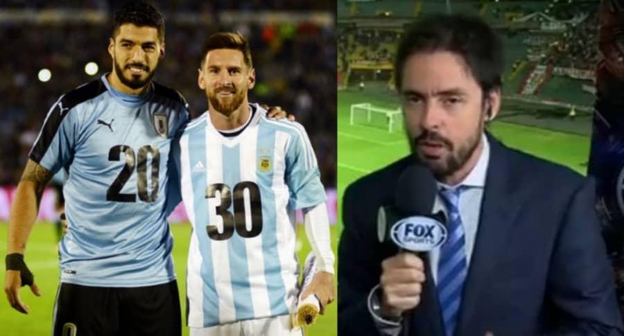 Suárez y Messi - Mariano Closs