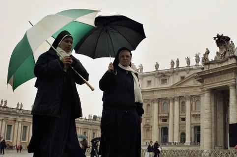 Clima en visita del papa
