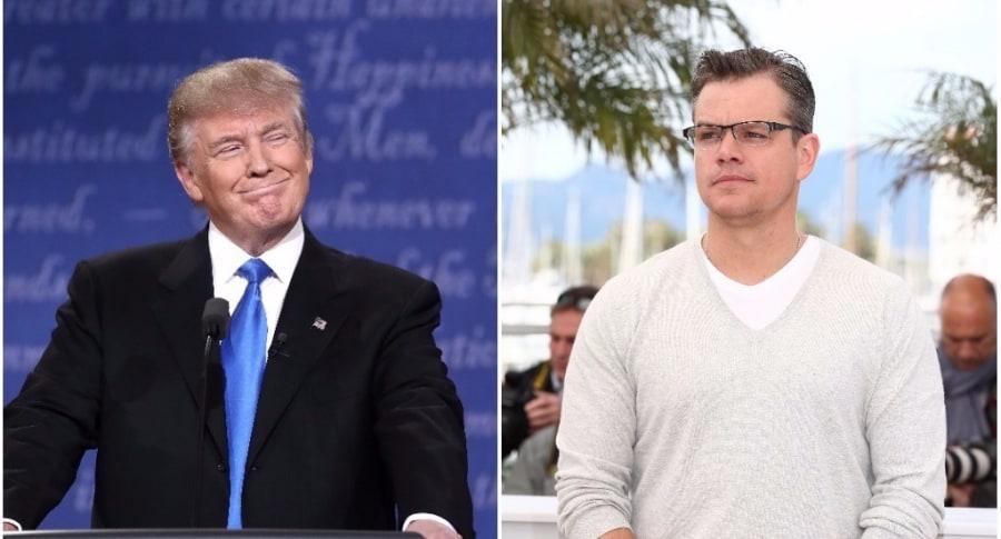 Donald Trump / Matt Damon
