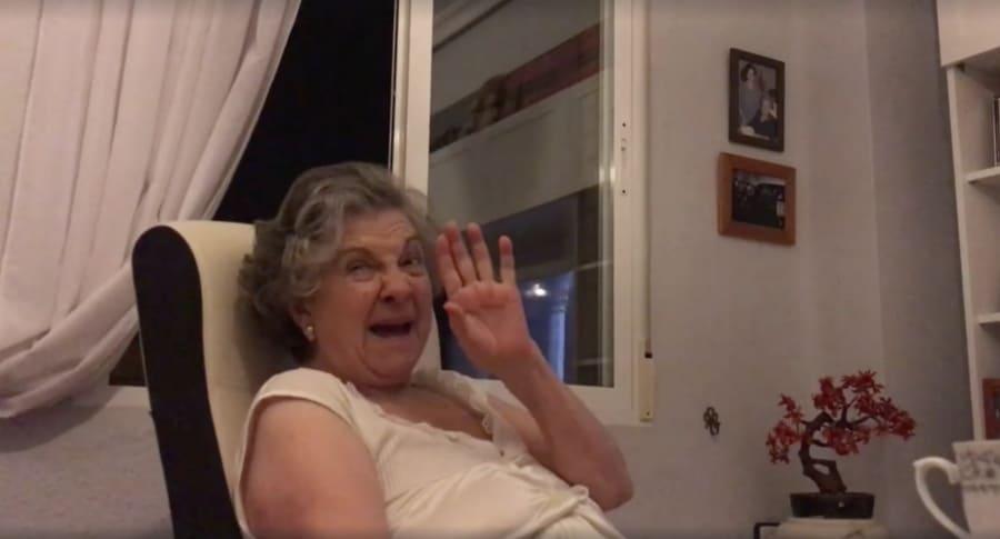 Abuela que hizo comentarios sobre 'Game of Thrones'. Pulzo.