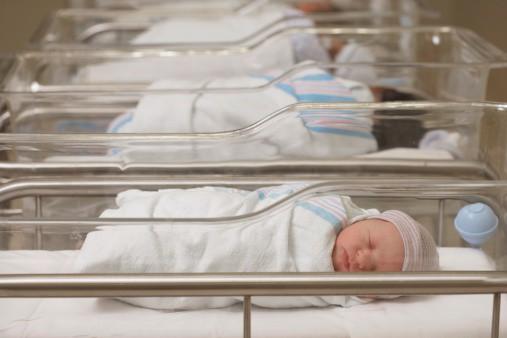Recién nacidos en hospital