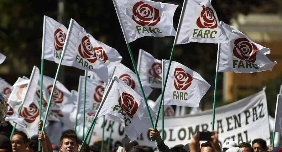Imagen partido político Farc