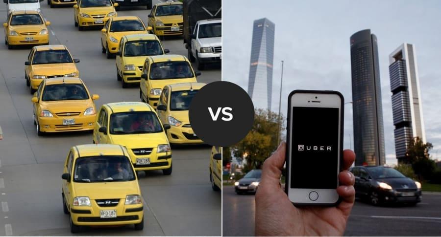 Taxistas y Uber