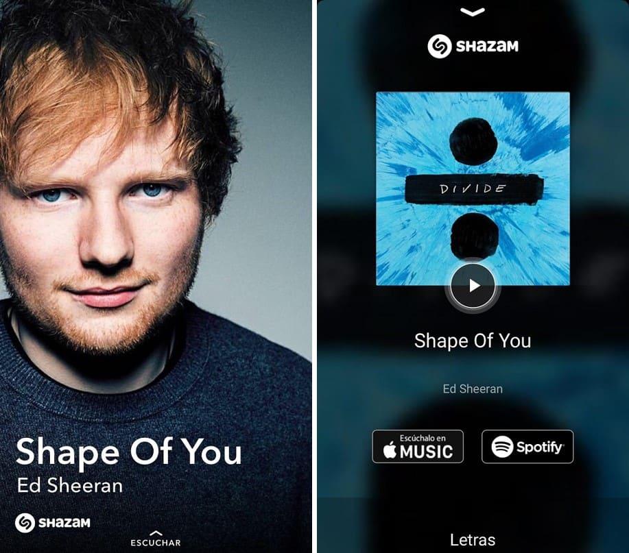 Snapchat y Shazam 3
