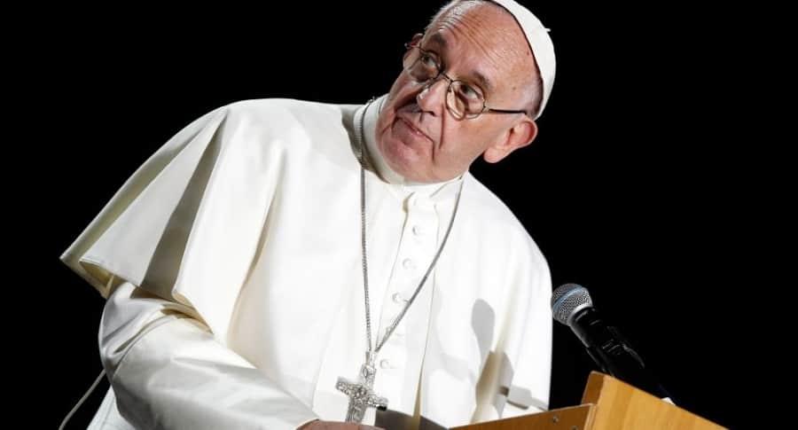 Mensaje al papa en Medellín