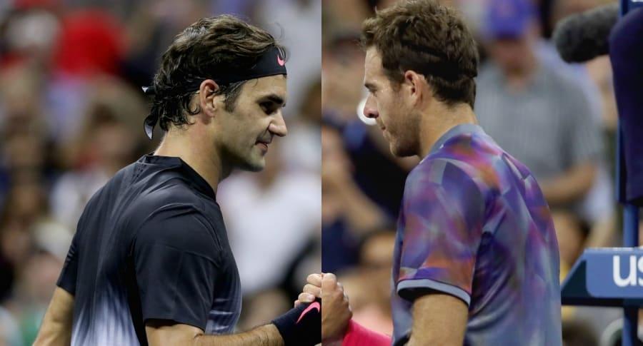 Roger Federer y Juan Martín Del Potro