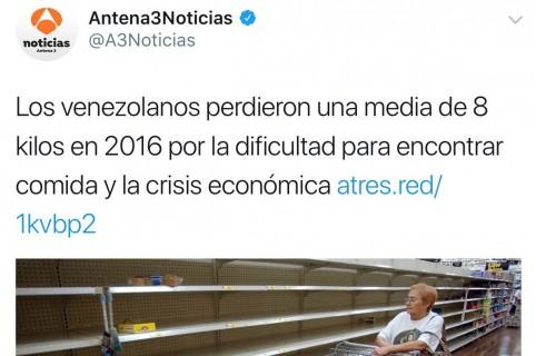 Titular y foto de Antena 3