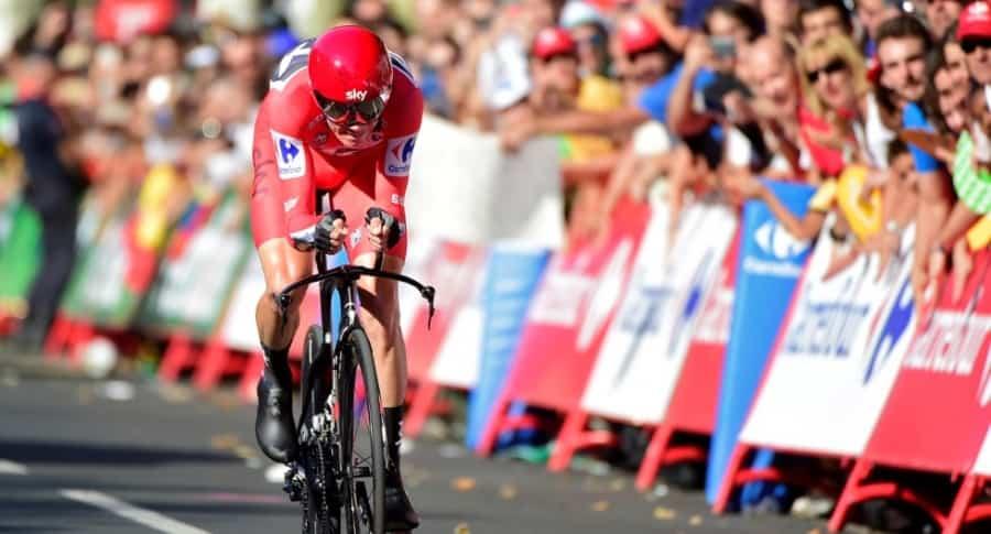 Froome en contrarreloj de Vuelta a España