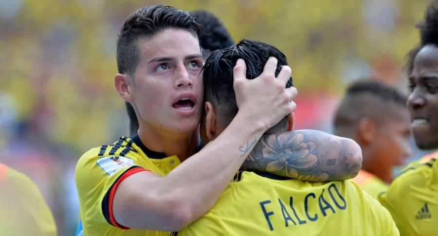 James y Falcao