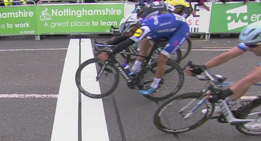 Fernando Gaviria gana en Tour de Gran Bretaña