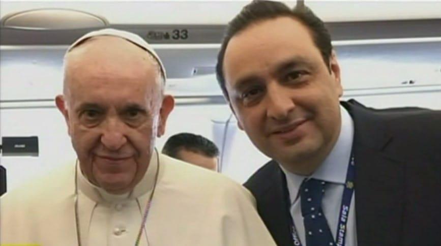 Jorge Alfredo Vargas y el papa