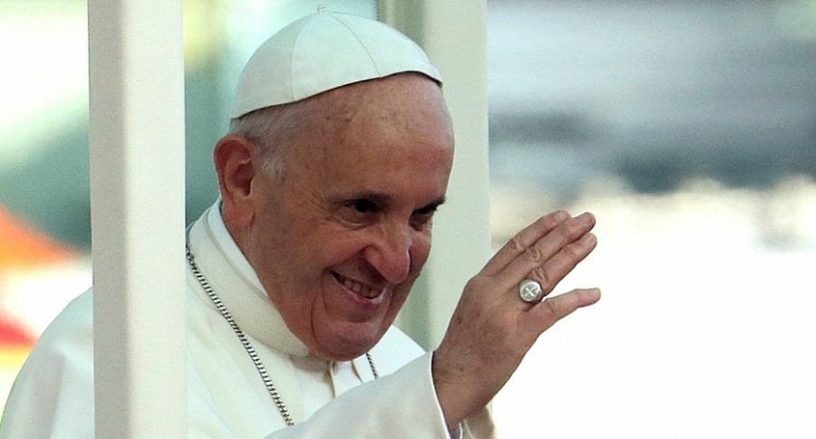 Papa Francisco en Catam.