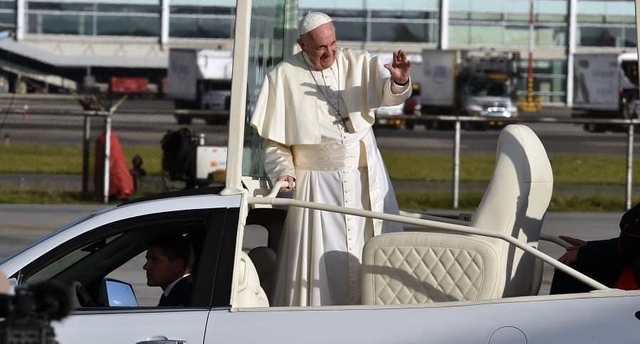 Saludo del papa Francisco a los colombianos