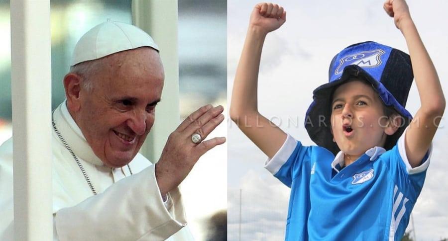 El papa en Bogotá