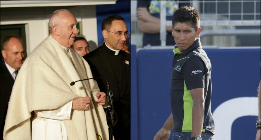 Francisco y Nairo Quintana