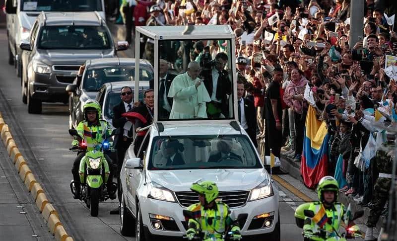 Francisco en Bogotá