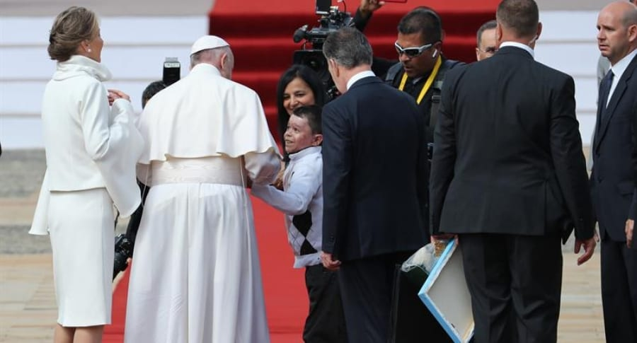 Papa Francisco en la Casa de Nariño