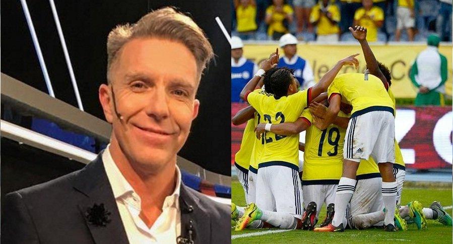 Alejandro Fantino y la Selección Colombia