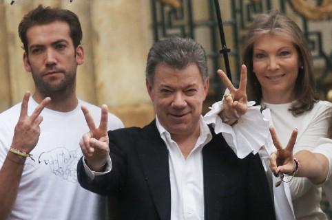 familia presidente Martín Santos, Juan Manuel Santos, María Clemencia Rodríguez de Santos