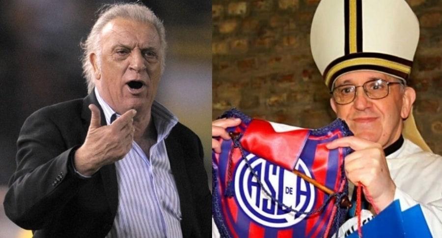 Alfio 'Coco' Basile y el papa Francisco