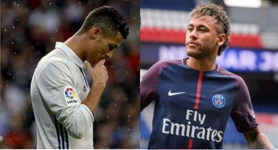 Cristiano Ronaldo y Neymar