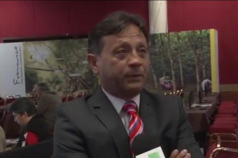 Winston Viracachá Pava, periodista de Noticias RPTV que denuncia el hurto