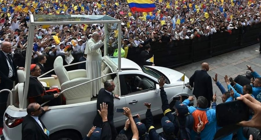 Escoltas papa Francisco