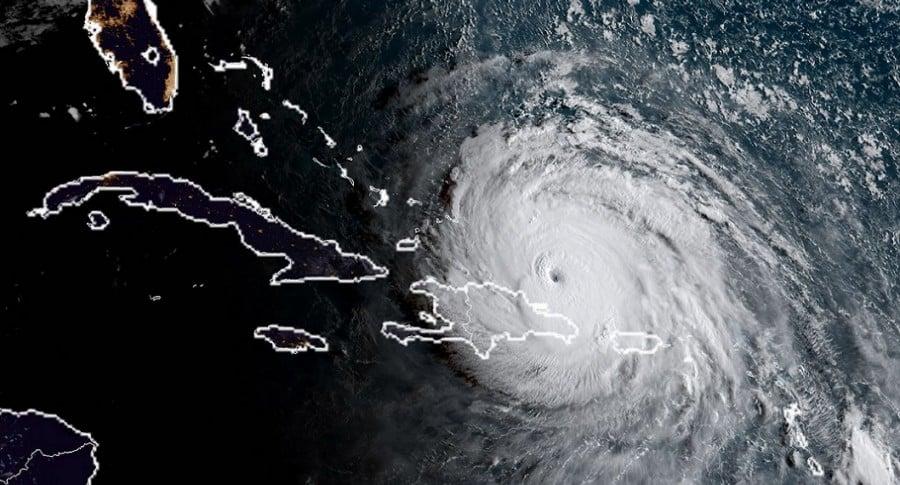 Avance del huracán Irma
