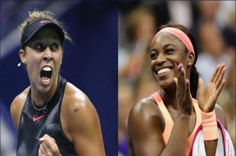 Madison Keys y Sloane Stephens