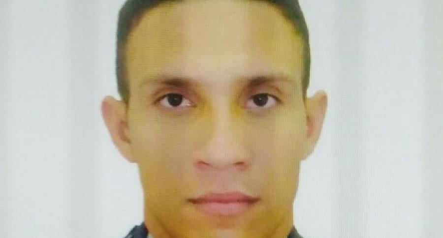 Freddy Flórez Hernández, patrullero de la Policía asesinado